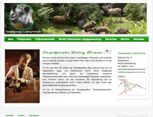 Tierpräparator Krinner