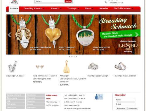 Goldschmiede Onlineshop